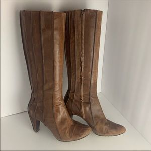 Tsubo Leather Heeled Boots
